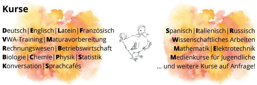 2019 Kurse Nachhilfe Dodos Denkwerkstatt Berndorf Triestingtal